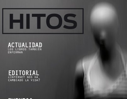 Hitos - first approach to editorial design