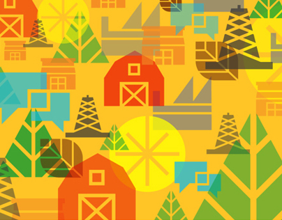 Olds College | Icon Set + Wallpaper