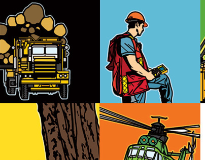 Hayes Forest Services Limited | Illustration Suite