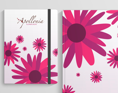 Apollonia Flower Shops | Branding