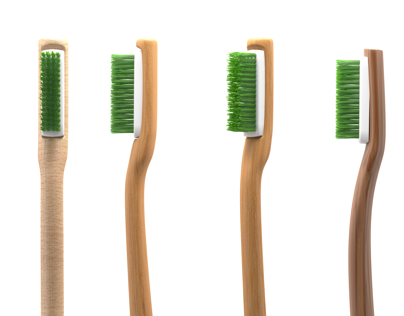 Tooth Brush 3d-Visualization