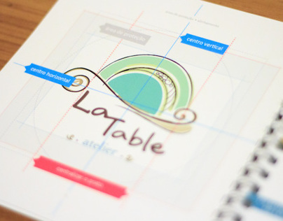 La Table Atelier - Minimanual de Identidade Visual