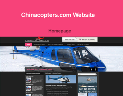 Chinacopters.com Website