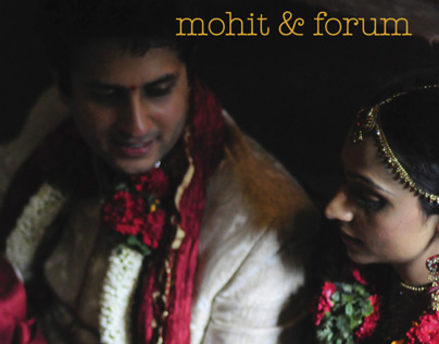 mohit and forums wedding