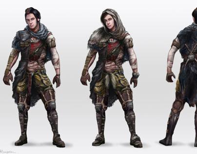 Post Apocalyptic Character Development