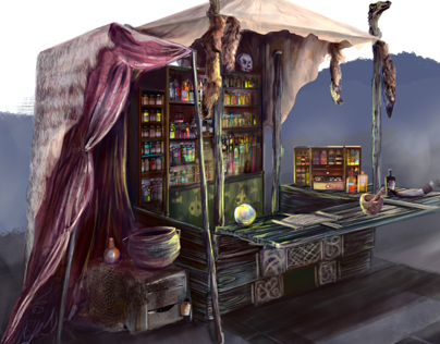 The Soulkeeper - Lusty Mermaid Interior Concept