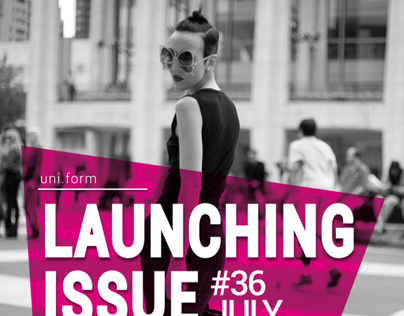 Uniform Online Magazine Poster
