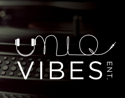 Uniq Vibes Entertainment Branding