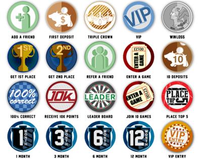 PerfectStreak.com Award Badges