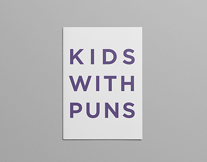 Kids With Puns / Issue 1