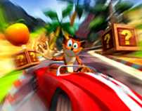 Crash Bandicoot Nitro Kart 3D (Zeebo porting)
