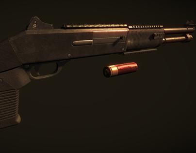 M1014 Shotgun (Personal Work)