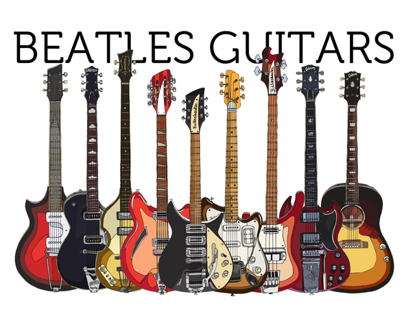 Beatles Guitars - all of them! -