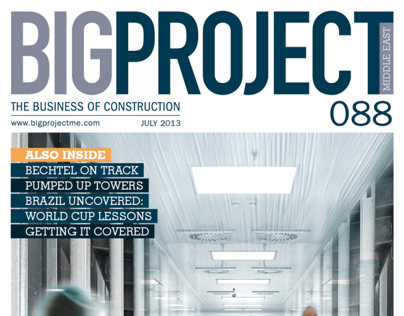 088 Big Project Middle East - July issue.