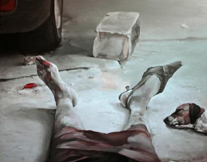 Posthumans - Paintings 2013 / 2014