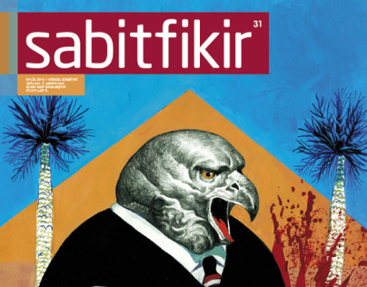 Sabit Fikir Magazine Cover for September