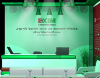 Booth Design EXIM Bank