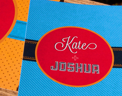 Kate + Joshua | Wedding Invite