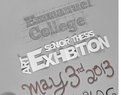 Emmanuel College Sr Thesis Exhibition Media