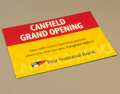 Canfield Office Grand Opening Direct Mailer