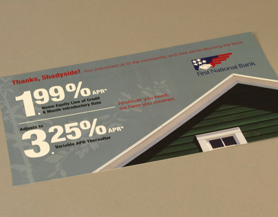Shadyside Office Product Promotional Postcard