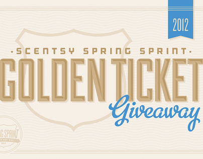 Scentsy Spring Sprint Promotional Tickets