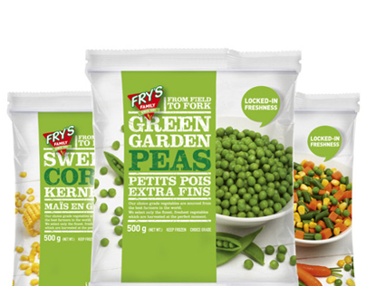Packaging Design: Frozen Vegetables