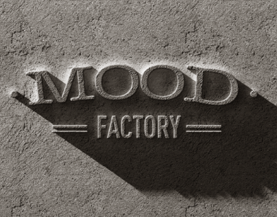MOOD FACTORY - Logo Design
