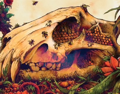 Earth- The Bees Made Honey in the Lions Skull