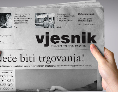 Vjesnik daily newspapers