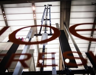 Eiffel Tower LED Sculpture for Joe Fresh