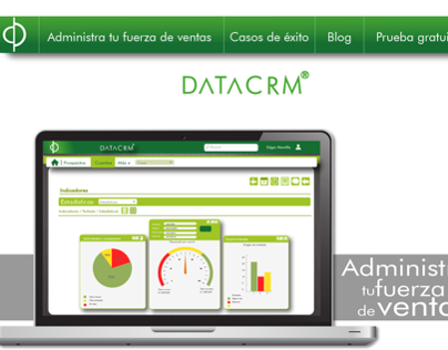 Data CRM Website