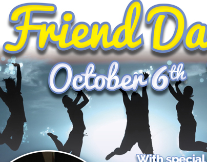 Friend Day Flyer