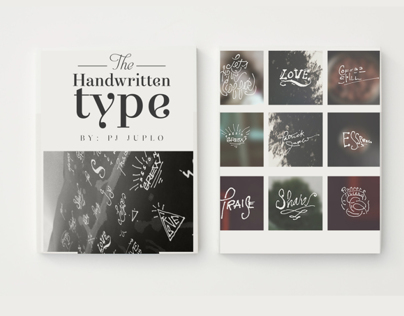 Typography : Handwritten Types