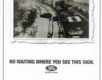 Land Rover Press Advertising