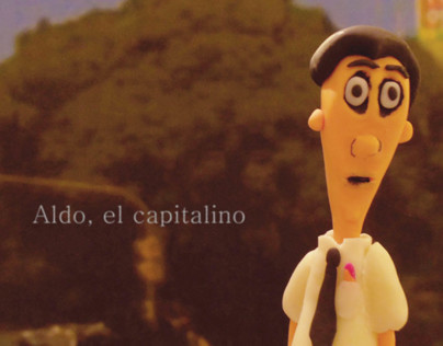 Digital art, picture book. Aldo, el capitalino.