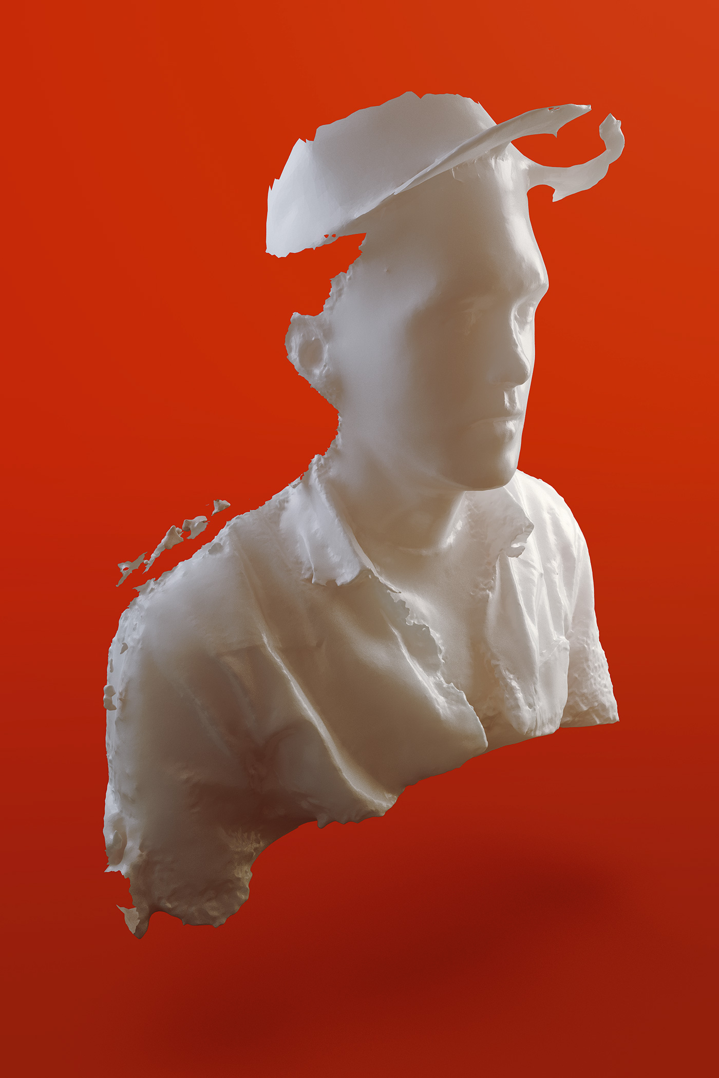 3D Faces // Photos to 3D sculptures