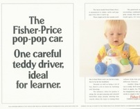Fisher Price – Press Advertising