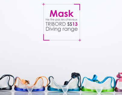 TRIBORD diving mask