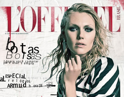 Redesign L'Officiel Brasil