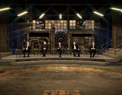 Dragons Den Set