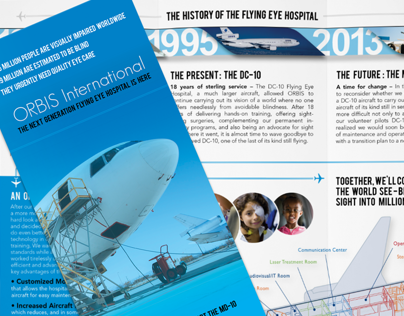 Orbis International - Trifold Brochure