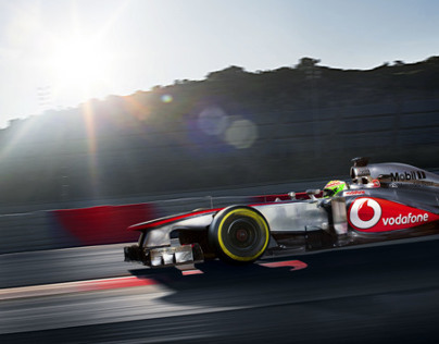 Vodafone McLaren Mercedes Pre-Season Collateral shoot 3