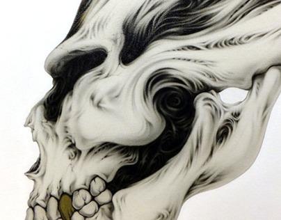 A - hum skull