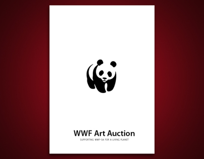 WWF Charity Art Auction invitation