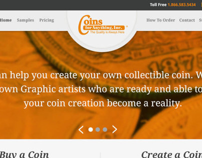 Coins for Anything Redesign Concept