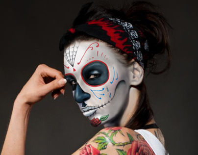 Monilove sugar skull