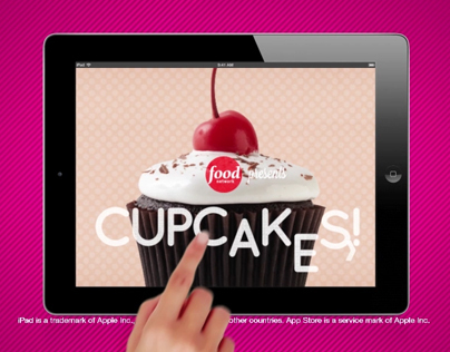 Food Network: Cupcake Wars App Spot