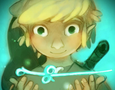 Winning Entry for the Wind Waker HD Fan Art Contest!!!