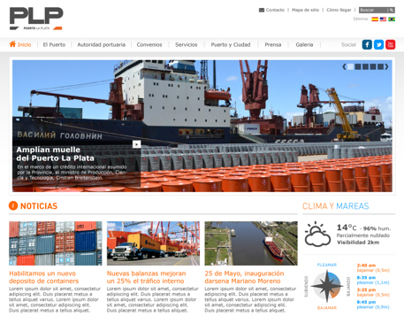 Puerto La Plata - Website